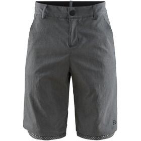 Craft Ride Habit Shorts Men dark grey melange